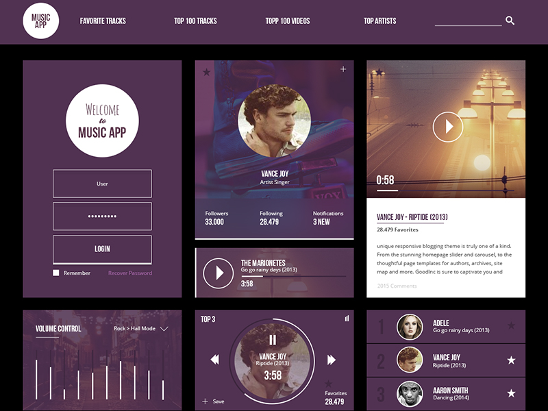Free-MusicApp-Ui-Kit-Download-Free-Music-Dashboard